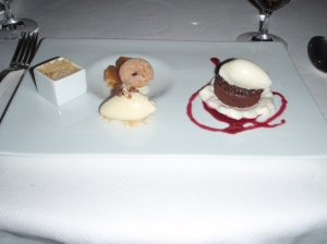 Chef's dessert selection